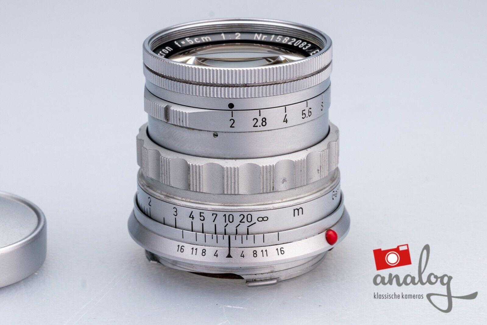Leica Summicron 5cm 2.0 (II) - 11818 - rigid - Germany
