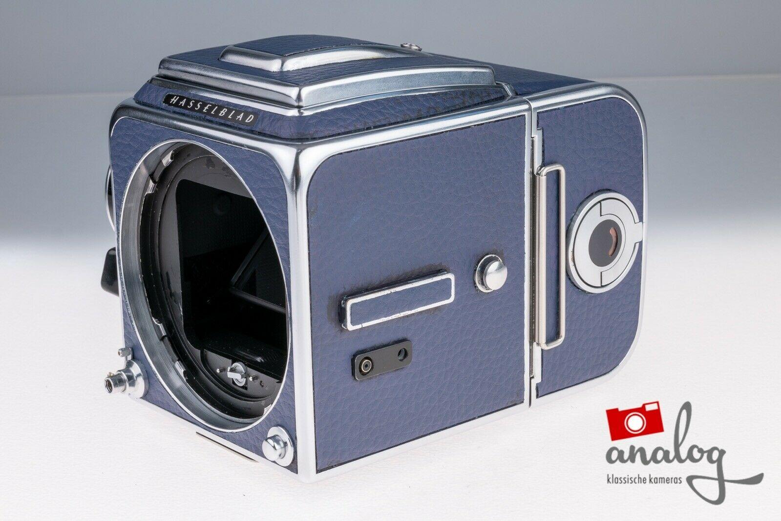 Hasselblad 500 C/M mit A12-Magazin chrome - werkstattüberholt