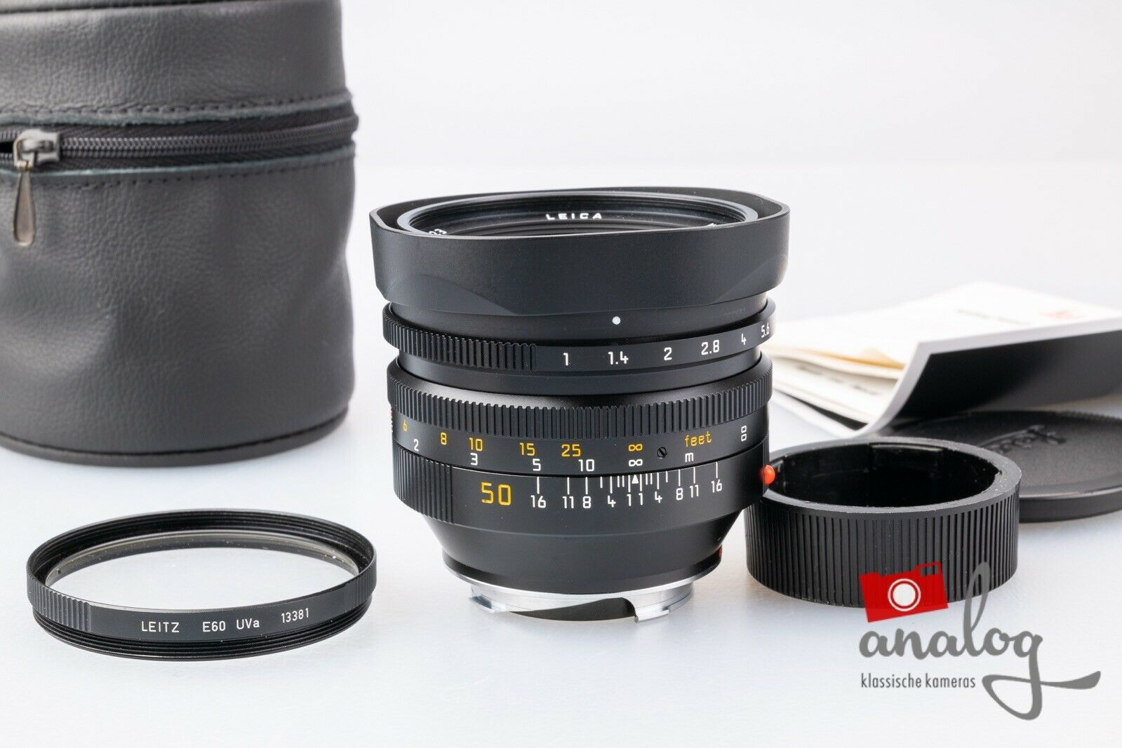 Leica Noctilux 50mm 1.0 4th Version - 11822 - Leica-Service + 6Bit-Codierung